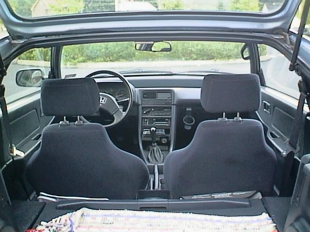 My '89 Honda CRX: Picture 1